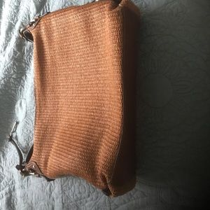Vintage Fossil summer shoulder purse